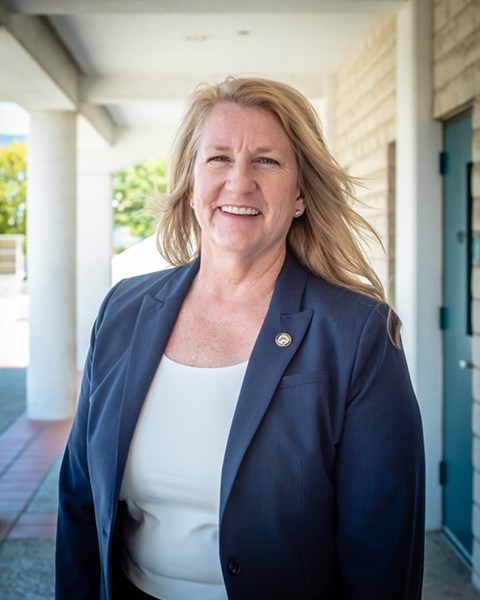 NEW SHERIFF IN TOWN Cuesta College welcomes its new superintendent, Jill Stearns. - PHOTO COURTESY OF CUESTA COLLEGE
