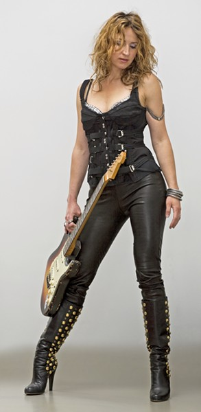 SHREDDER LA guitar goddess Ana Popovic plays The Siren on Oct. 4. - PHOTO COURTESY OF ANA POPOVIC
