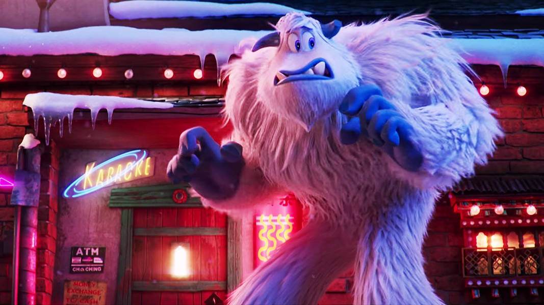 GENTLE GIANT? Migo (voiced by Channing Tatum) takes a leap of faith to discover if humans really exist, sowing discord in his Yeti village. - PHOTO COURTESY OF WARNER BROS.