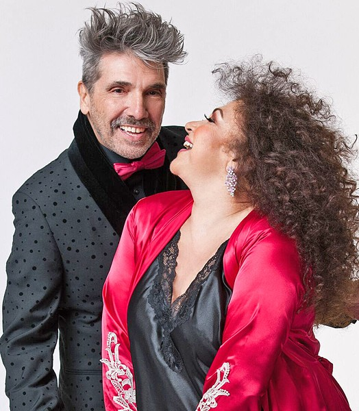ARRIBA! International superstars Amanda Miguel and Diego Verdaguer play the Fremont on Oct. 14, bringing their Latin music hits. - PHOTO COURTESY OF AMANDA MIGUEL AND DIEGO VERDAGUER
