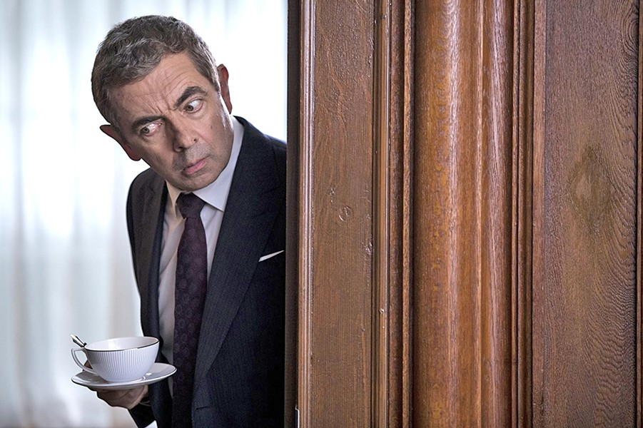 ENGLISH, JOHNNY ENGLISH Rowan Atkinson reprises his role as a bumbling British secret agent in the spy spoof Johnny English Strikes Again. - PHOTO COURTESY OF PERFECT WORLD PICTURES