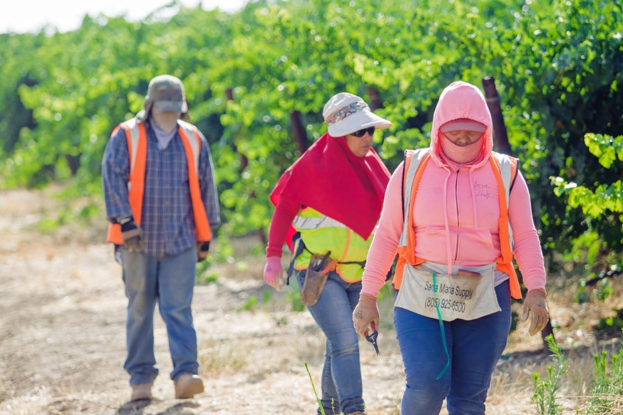 FARM HOUSING WANTED San Luis Obispo County is overhauling its farmworker housing regulations to address a severe shortage of units. - FILE PHOTO BY JAYSON MELLOM