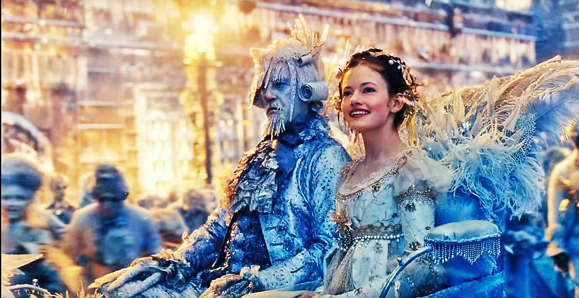 JUST A GIRL Young Clara (Mackenzie Foy) is transported to a magical world built by her mother, where she must work to save it from destruction, in The Nutcracker and the Four Realms. - PHOTO COURTESY OF WALT DISNEY PICTURES