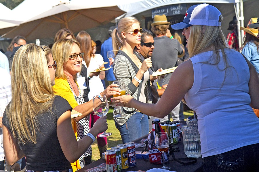 TASTE THE WAVE On Nov. 3, coastal wineries and chefs alike will converge at Avila Beach Resort for the Grand Tasting & Wine Auction as part of the weekend's Harvest on The Coast celebration. Along with food and wine from more than 60 wineries, attendees can expect a winemaker-led wine and lifestyle auction that features rare wines, themed destination getaways, culinary treats, and more. - PHOTO COURTESY OF BARRY GOYETTE