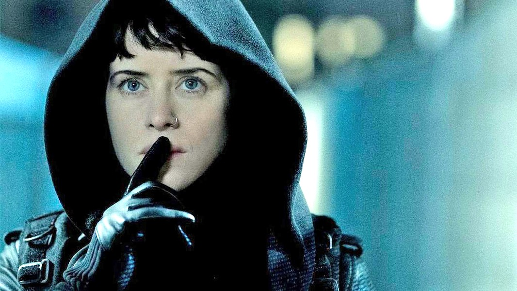 PUNISHING PATRIARCHY Clair Foy takes on the role of feminist hacker Lisbeth Salander, in The Girl in the Spider's Web: A New Dragon Tattoo Story. - PHOTO COURTESY OF METRO-GOLDWYN-MAYER