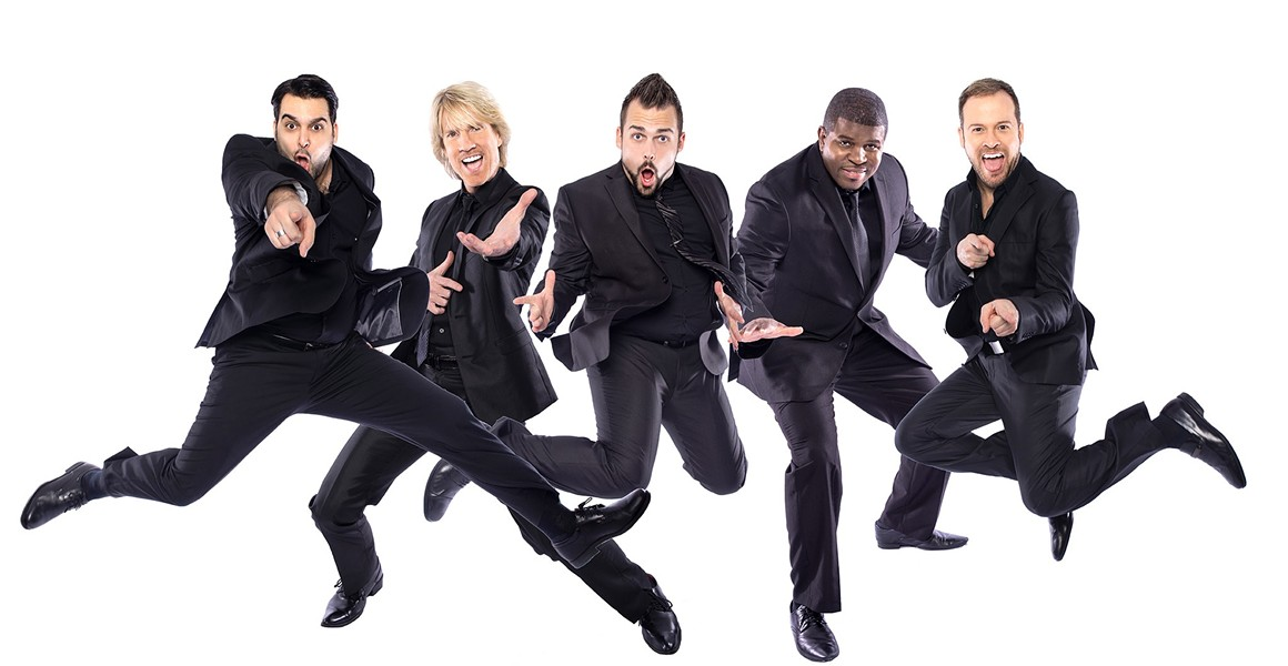 A CAPPELLA Harmony vocal group Rockapella performs Nov. 17, in the Clark Center. - PHOTO COURTESY OF ROCKAPELLA