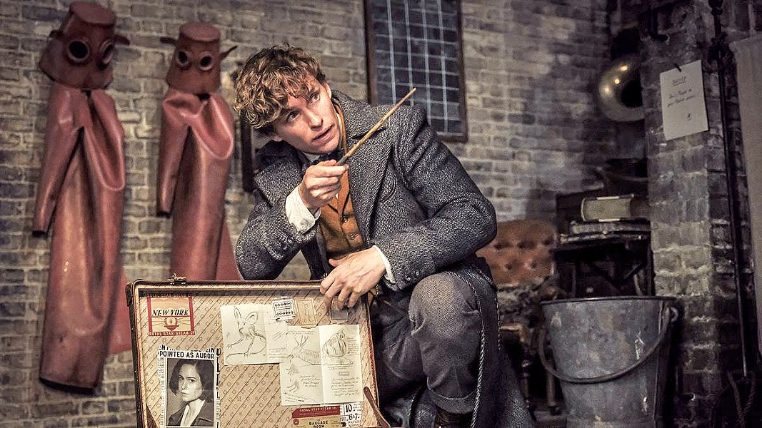 MORE MAGIC Magizoologist Newt Scamander (Eddie Redmayne) must once again hunt down evil wizard Gellert Grindelwald, in Fantastic Beasts: The Crimes of Grindelwald. - PHOTO COURTESY OF WARNER BROS.