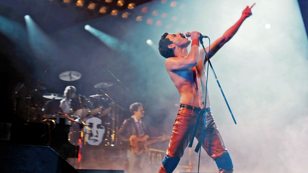 HE WILL ROCK YOU Rami Malek turns in an electrifying performance as Queen frontman Freddie Mercury, in the engaging biopic, Bohemian Rhapsody. - PHOTO COURTESY OF NEW REGENCY PICTURES