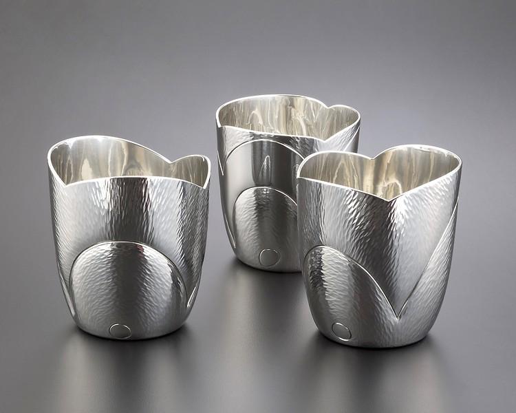 Pewter cups by Randy Stromsoe. - PHOTO COURTESY OF RANDY STROMSOE