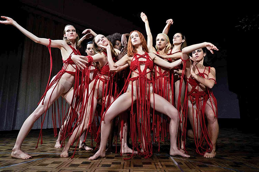 LAST CHANCE! The women of the Markos Dance Academy have a sinister secret of giving more than just their soul to dance, in Suspiria, which ends its run at the Palm Theater on Dec. 6. - PHOTO COURTESY OF FRENESY FILM COMPANY