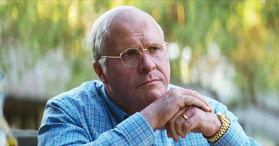 VICE IS RIGHT Dick Cheney (Christian Bale) uses his power to reshape the U.S. and its foreign policy, in Vice. - PHOTO COURTESY OF ANNAPURNA PICTURES