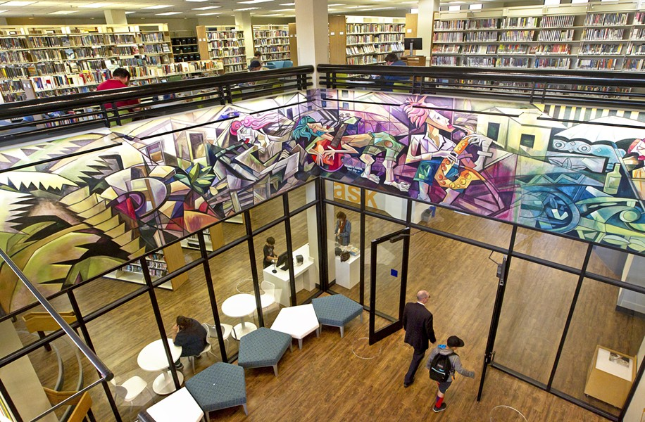 OVERDUE To celebrate its centennial, SLO County's public libraries will offer fine amnesty for anyone who returns overdue items. - FILE PHOTO BY JASON MELLOM