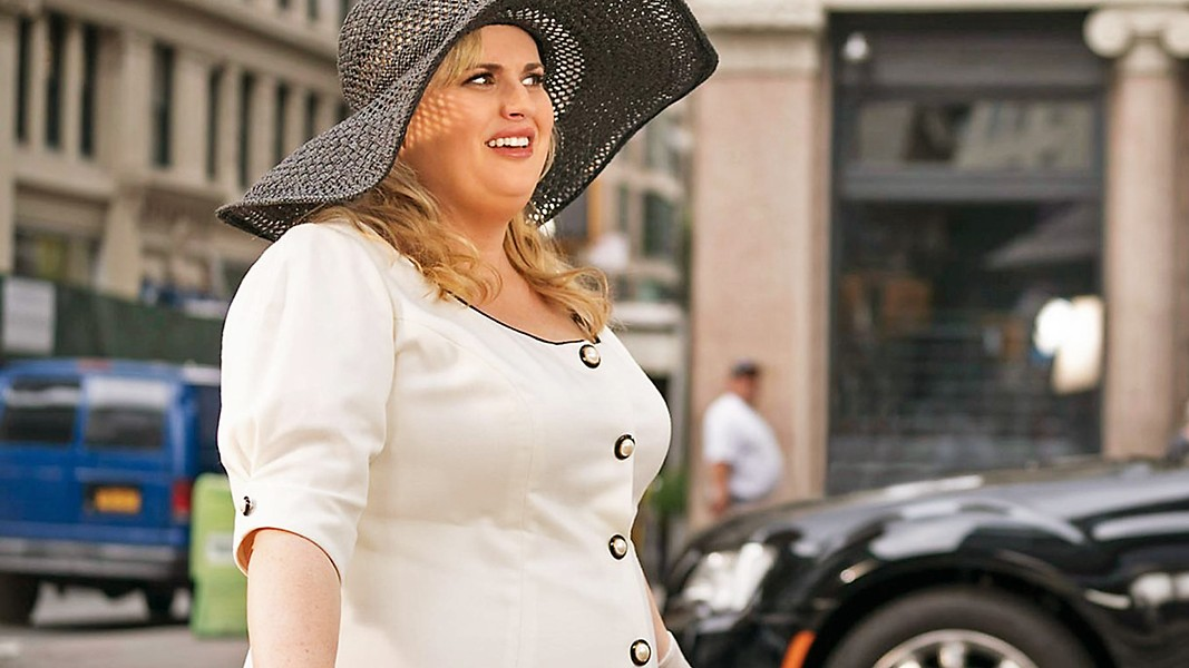 NIGHTMARE Rebel Wilson stars as Natalie, a woman disenchanted by romance who discovers she's trapped in a romantic comedy, in Isn't It Romantic, opening on Feb. 14. - PHOTO COURTESY OF BRON STUDIOS