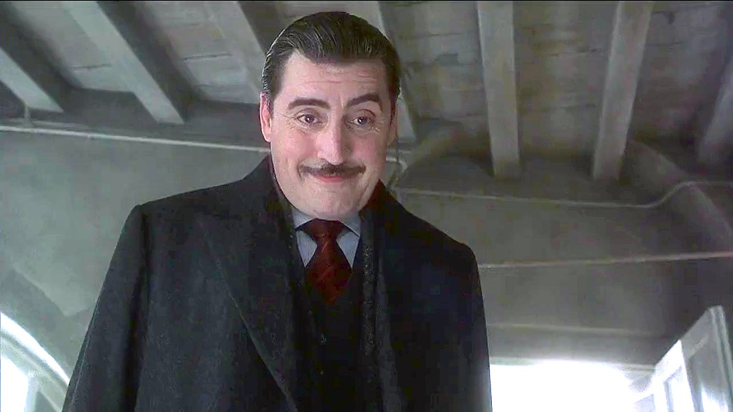 DELICIOUSLY SUSPICIOUS Alfred Molina stars as Mayor Comte de Reynaud, who believes a confectioner is bewitching her product, in the 2000 film Chocolat, which will be screened after Molina accepts the King Vidor Award, on March 16, in the Fremont Theater. - PHOTO COURTESY OF MIRAMAX