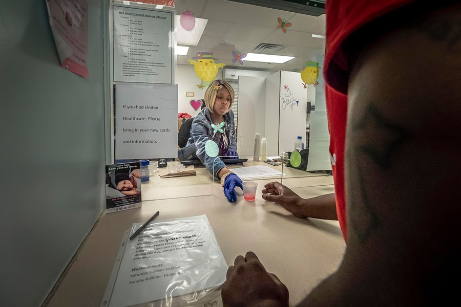 TREATING ADDICITON SLO County wants to add additional locations where residents struggling with opioid addiction can get medication like methadone (above) as part of their treatment. - PHOTO COURTESY OF THE FDA