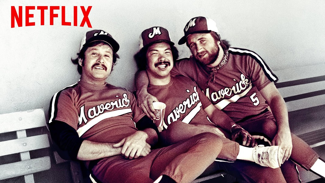 UNDERDOGS In 1973, actor Bing Russell started the Portland Mavericks, an independent minor league baseball team of rejects that took the Pacific Northwest by storm. - PHOTO COURTESY OF NETFLIX