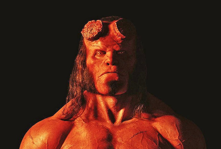 REBOOT Well-meaning half-demon Hellboy (David Harbour) battles an undead sorceress bent on destroying the world, in Hellboy, a new reboot of the two-film franchise. - PHOTO COURTESY OF SUMMIT ENTERTAINMENT
