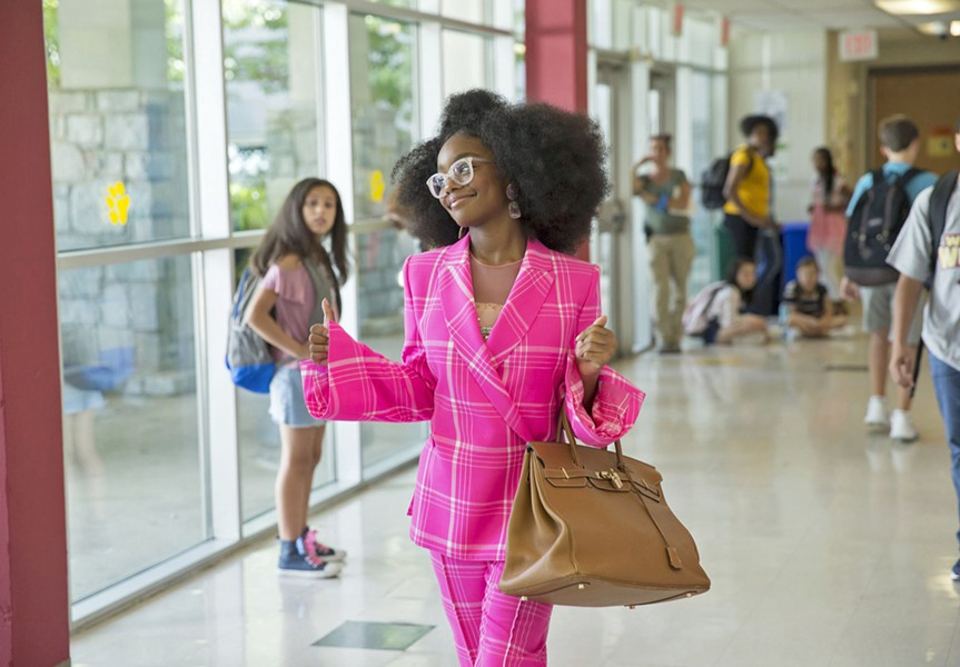 NOT BIG When ruthless tech mogul Jordan Saunders is transformed into her younger self (Marsai Martin), she has to find a way to revert to adulthood, in Little, in this reversal of the plot of Tom Hanks' Big. - PHOTO COURTESY OF UNIVERSAL PICTURES