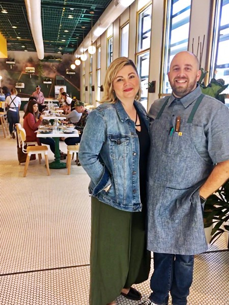 DREAM TEAM Farmhouse Corner Market is co-owned by two married couples: Chef Will and Kari Torres (pictured), and partners Ryan and Leanne Harris. - PHOTOS BY BETH GIUFFRE