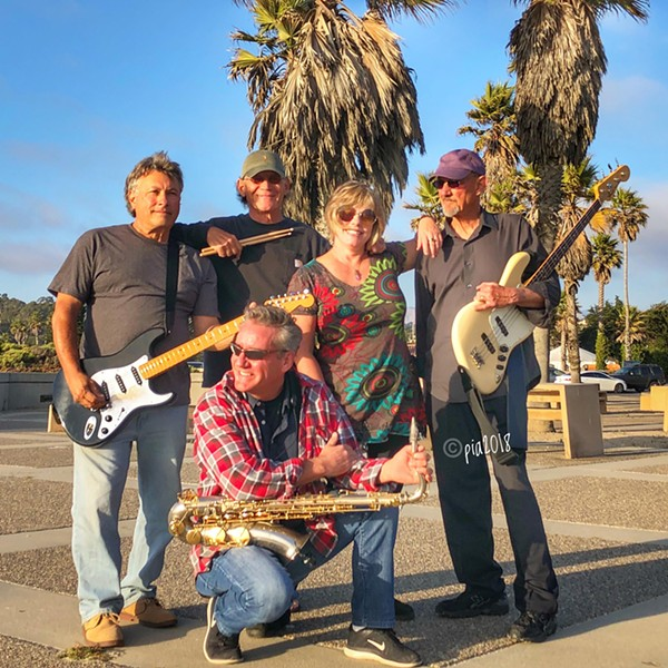 SURF'S UP Dance band Back Bay Betty plays a fundraiser for Morro Bay's Project Surf Camp, which provides surfing experiences to special needs individuals, on June 11, Coleman Park on Morro Bay's Embarcadero. - PHOTO COURTESY OF PIA