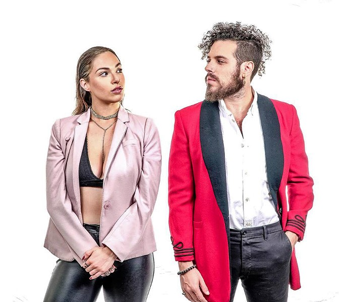 EVERYBODY DANCE NOW EDM pop dance duo Rose Colored World kicks off the 24th annual Concerts in the Plaza series on Friday, June 14. - PHOTO COURTESY OF ROSE COLORED WORLD