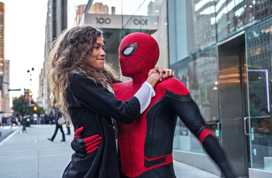 GET THE GIRL Tom Holland (right) returns as Peter Parker, aka Spider-Man, and Zendaya is MJ, in Spider-Man: Far From Home. - PHOTO COURTESY OF MARVEL STUDIOS