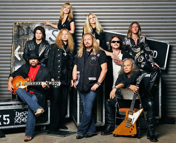 OLD-SCHOOL SOUTHERN ROCKERS Lynyrd Skynyrd headlines the Chumash Grandstand Arena in Paso Robles on July 23, during the California Mid-State Fair. - PHOTO COURTESY OF LYNNYRD SKYNNYRD