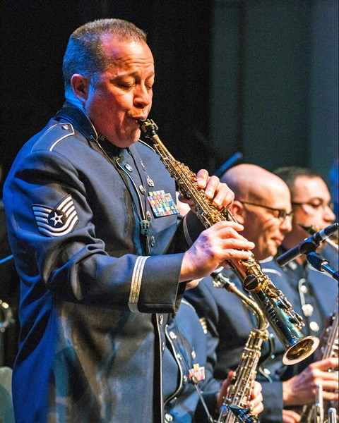 PATRIOTS JAZZ The Commanders Jazz Ensemble, part of the U.S. Air Force Band of the Golden West, plays a free concert at Cuesta College on Aug. 10. - PHOTO COURTESY OF THE U.S. AIR FORCE BAND