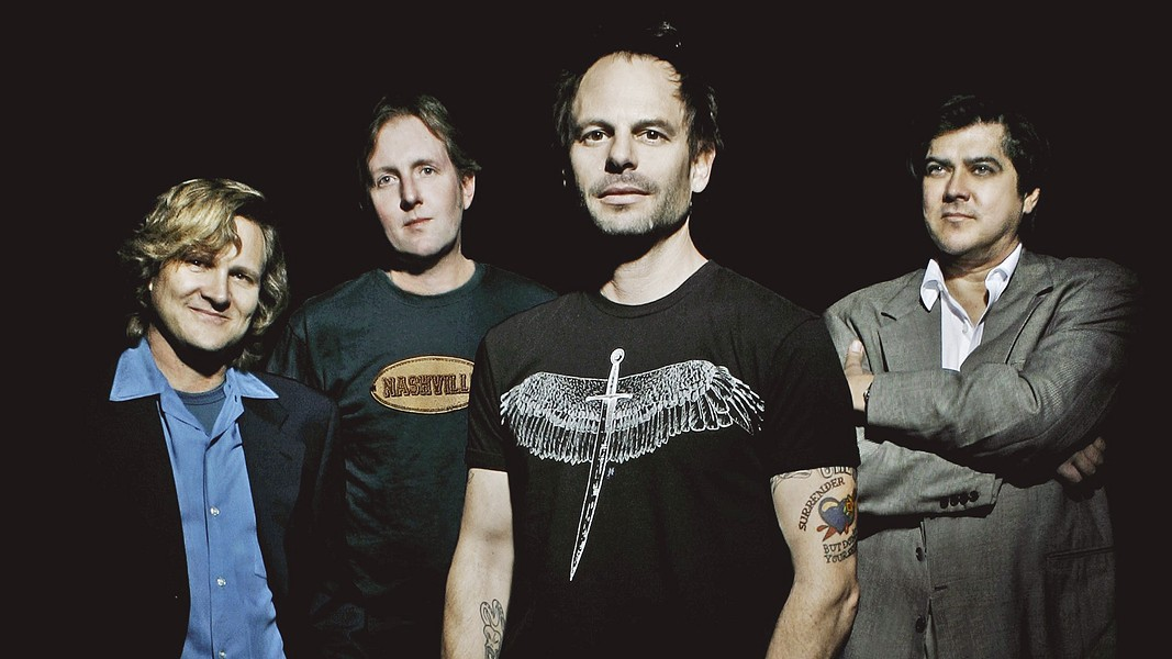 HEY JEALOUSY Classic '90s jangle-pop act Gin Blossoms play their New Miserable Experience Live show on Aug. 17, in the Fremont Theater. - PHOTO COURTESY OF GIN BLOSSOMS