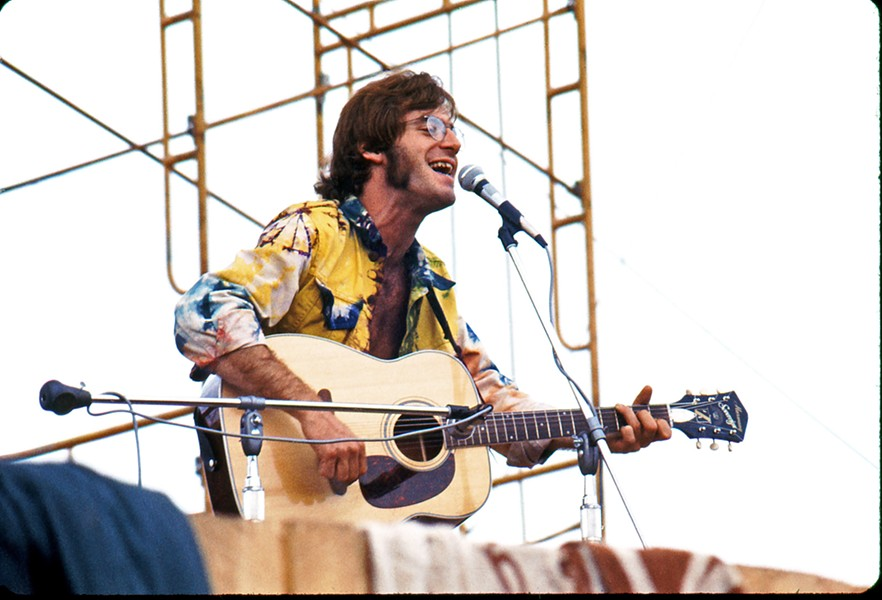 SURPRISE John Sebastian had an impromptu appearance at Woodstock. William Seavey was there to capture it. - PHOTOS COURTESY OF WILLIAM SEAVEY
