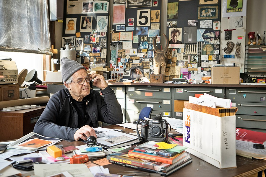 HOME SWEET HOME Artist and photographer Jay Maisel parts with his New York home of 48 years after deciding to sell it, in the documentary, Jay Myself. - PHOTO COURTESY OF MIND HIVE FILMS