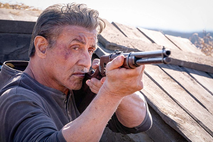 DON'T MESS WITH RAMBO Traumatized Vietnam vet John Rambo (Sylvester Stallone) must put this deadly combat skills to the test once more, in Rambo: Last Blood. - PHOTO COURTESY OF BALBOA PRODUCTIONS