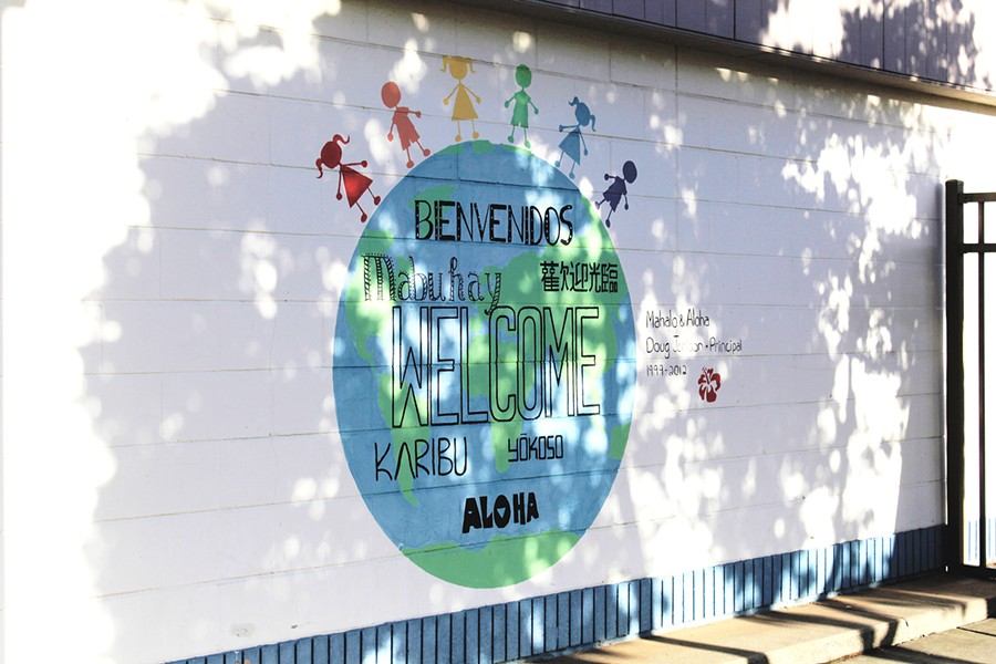 IMMERSIVE EDUCATION San Luis Coastal will be phasing in a dual-immersion language program at Baywood Elementary School. The program is scheduled to start with the kindergarten class in the fall of 2020-21 and continue to add a grade level each year. - PHOTO BY KASEY BUBNASH