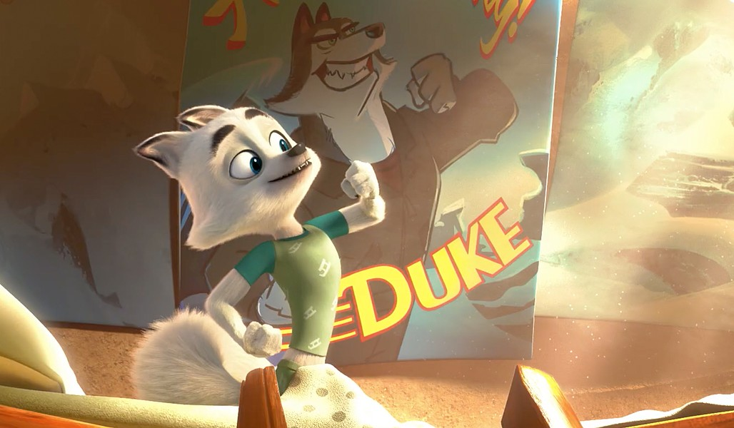 DOGS TO THE RESCUE Swifty the Arctic Fox (voiced by Jeremy Renner) enlists his friends to stop a villain who plans to melt the Arctic and rule in the world, in Arctic Dogs. - PHOTO COURTESY OF AMBI GROUP