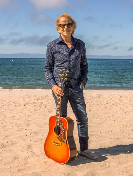 THE O.G. BEACH BOY Beach Boys founding member Al Jardine plays Morro Bay's The Siren on Nov. 16. - PHOTO COURTESY OF RANDY STRAKA