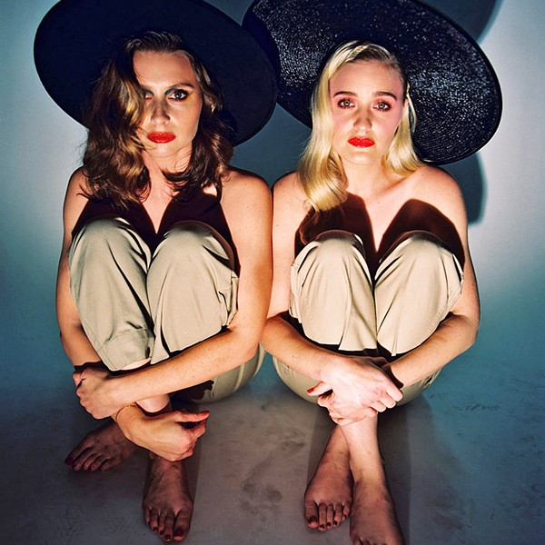 SISTERHOOD OF THE TRAVELING SYNTH Sisters Alyson and Amanda Michalka, known as Aly & AJ, bring their synth-pop sounds to the Fremont Theater on Dec. 1. - PHOTO COURTESY OF ALY & AJ