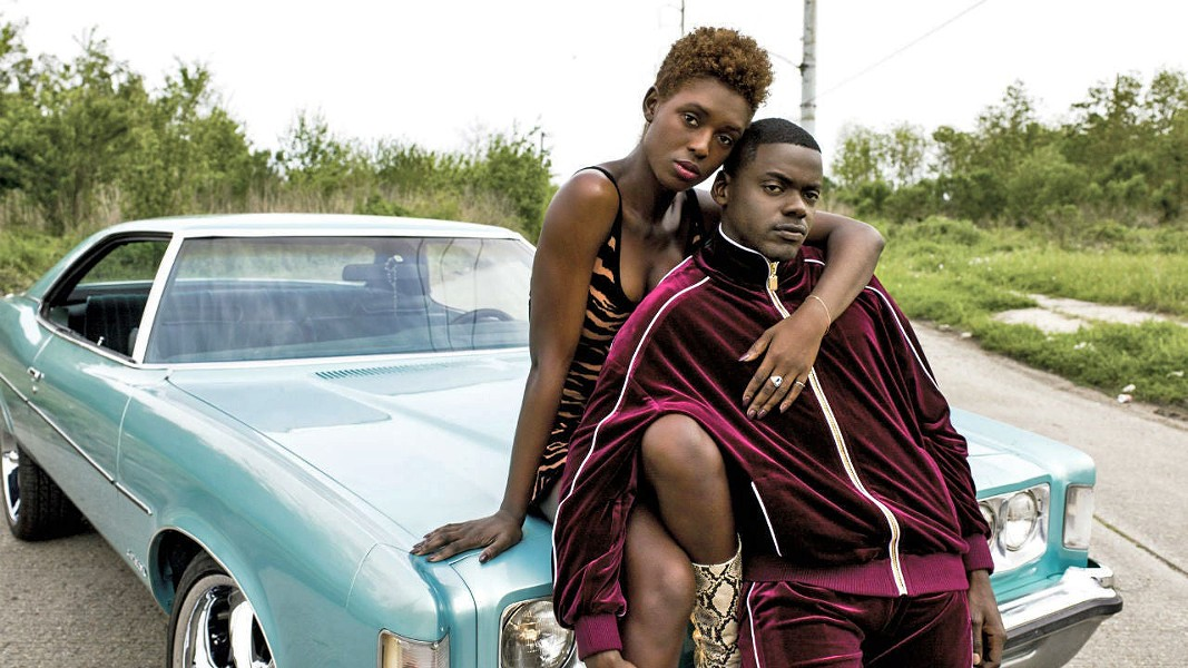 UNLIKELY OUTLAWS After killing a police officer in self-defense, a couple on their first date become symbols of minority oppression, in Queen & Slim, starring Jodie Turner-Smith (left) and Daniel Kaluuya. - PHOTO COURTESY OF BRON STUDIOS