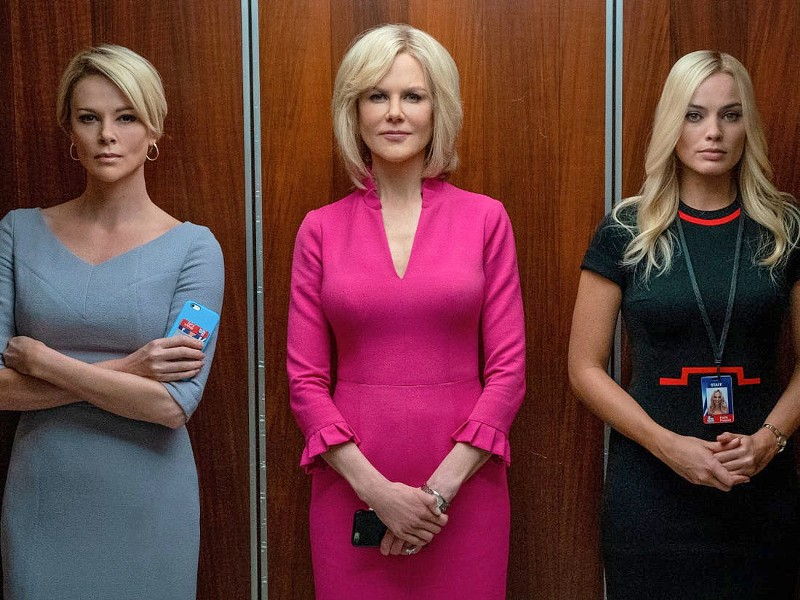 BRINGING DOWN AN EMPIRE The true story of the women who set out to expose Fox News CEO Roger Ailes for sexual harassment is explored in director Jay Roach's drama, Bombshell. - PHOTO COURTESY OF LIONSGATE