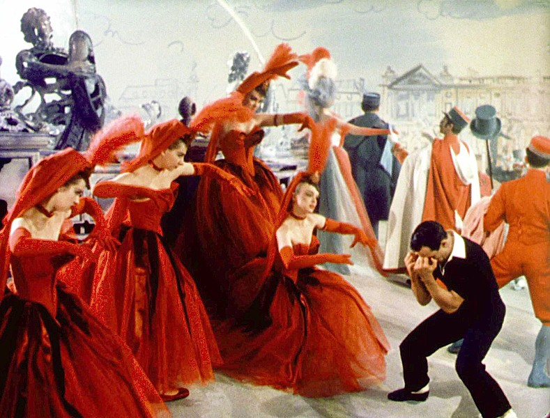 CHANT ET DANSE American ex-pat Jerry Mulligan (Gene Kelly) dances his way through post-World War II Paris, in An American in Paris, screening Jan. 19 and 22, in the Downtown Centre Cinemas. - PHOTO COURTESY OF COLUMBIA PICTURES
