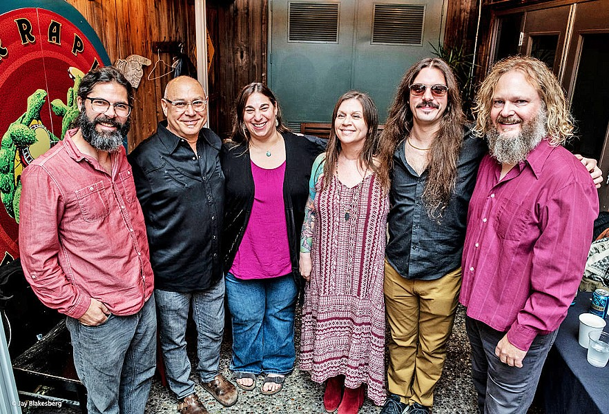 TOUCH OF GREY Jerry Garcia tribute act Jerry's Middle Finger plays SLO Brew Rock on Jan. 24. - PHOTO COURTESY OF JERRY'S MIDDLE FINGER