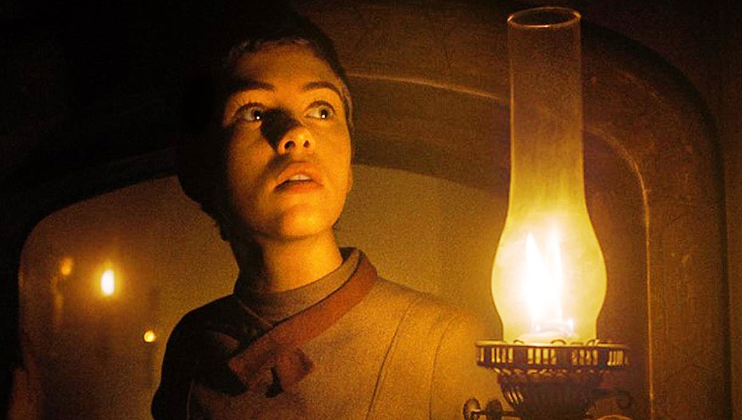 USELESS CHILD In this retelling of the classic Brothers Grimm tale, 16-year-old Gretel (Sophia Lillis) leads her little brother into the woods, where they're kidnapped by a cannibalistic witch, in Gretel and Hansel. - PHOTO COURTESY OF ORION PICTURES
