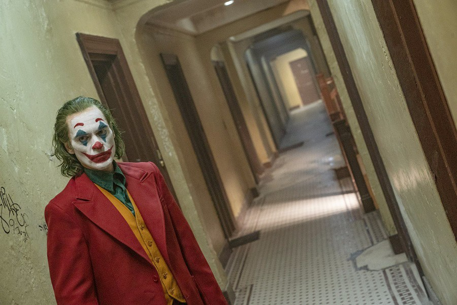 BECOMING JOKER After being rejected by society, Arthur Fleck (Joaquin Phoenix) becomes Joker, Batman's future archnemesis, in the origin story Joker. - PHOTO COURTESY OF BRON STUDIOS