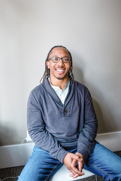 """EXPERIENCES Charles Bell, a portrait participant, said during his interview with Courtney Haile, """"My presence ... working in the career that I am, and the way I appear ... I think that continues to educate the community on our culture and what we can accomplish."""" - PHOTO COURTESY OF RENODA CAMPBELL"""
