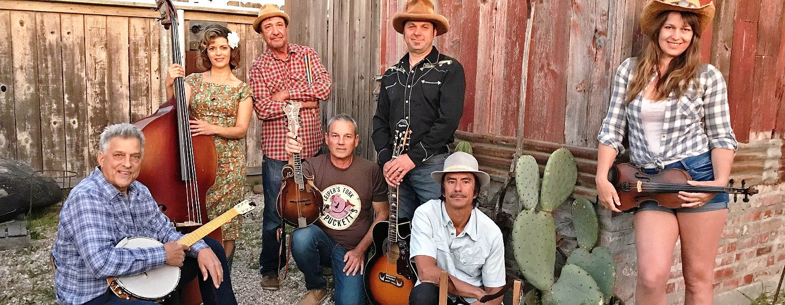 SHUCK YEAH! The Mother Corn Shuckers headline a three-band Valentine's Day show on Feb. 14, in the SLO Brew Rock Event Center. - PHOTO COURTESY OF THE MOTHER CORN SHUCKERS