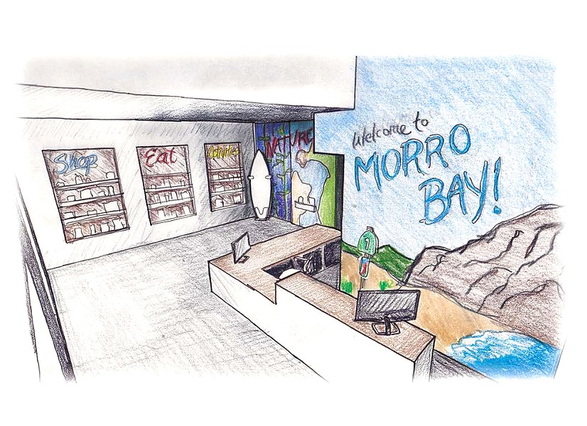 GATHERING VISITORS The Morro Bay City Council is asking its staff for more information on a proposed visitor center budget and other options for bringing in visitors. - PHOTO COURTESY OF THE CITY OF MORRO BAY