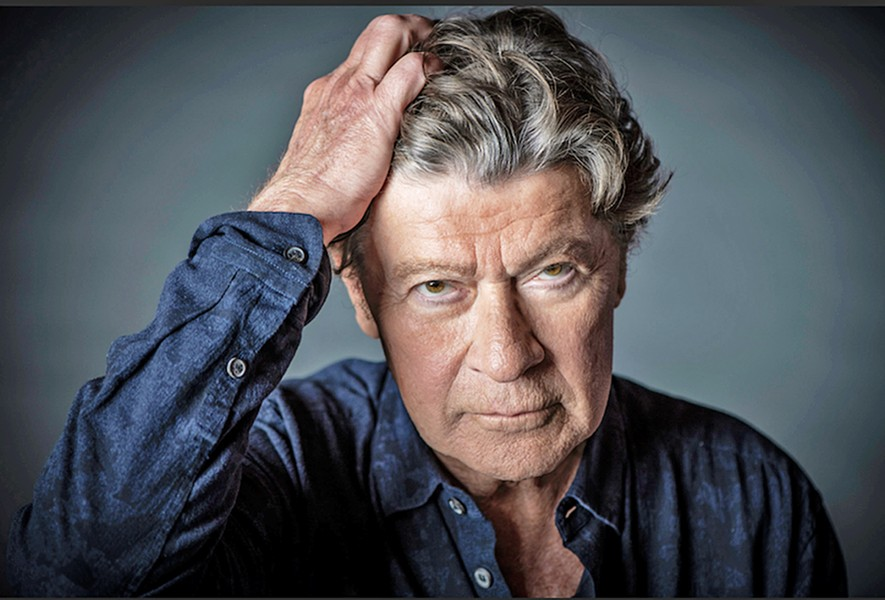 POMPOUS CIRCUMSTANCE In the new documentary Once Were Brothers: Robbie Robertson and the Band, Robertson celebrates himself, screening exclusively at The Palm. - PHOTO COURTESY OF IMAGINE DOCUMENTARIES