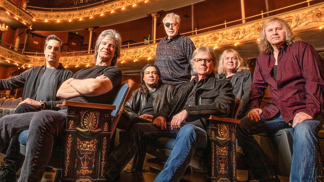 'CARRY ON WAYWARD SON' Seventies powerhouse Kansas comes to the Performing Arts Center on March 18, as part of their Point of Know Return Tour. - PHOTO COURTESY OF KANSAS