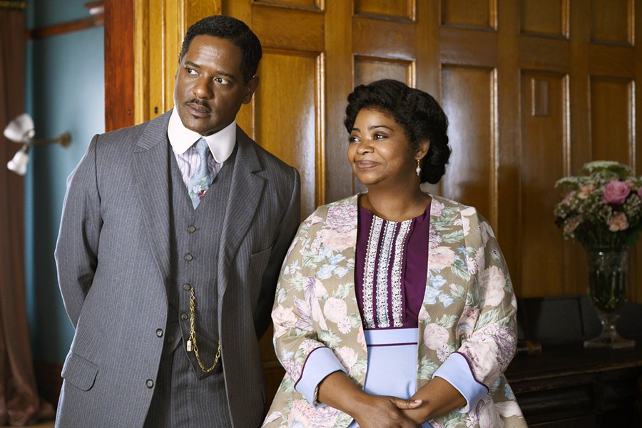 PARTNERS? Sarah Breedlove, aka Madam C.J. Walker (Octavia Spencer), is married to Charles James Walker (Blair Underwood) and begins to build her black hair care empire, but as time progresses, their marriage becomes strained, in Self Made: Inspired by the Life of Madam C.J. Walker, a new limited TV series on Netflix. - PHOTO COURTESY OF NETFLIX