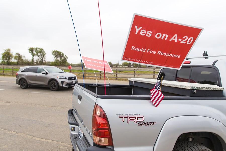 ANOTHER GO Oceano's proposed fire tax is getting a recount after primary election results showed it was 11 votes away from passing. - PHOTO BY JASON MELLOM