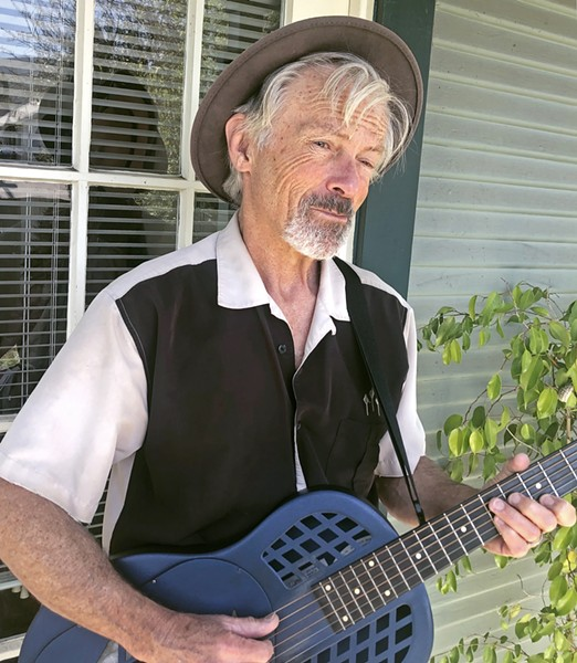 """GOOD ADVICE Ted Waterhouse recently penned the COVID-19 song """"Six Feet Apart Or Six Feet Under."""" He and his band The Jump Jax play a livestreaming concert on April 26 on the Basin Street Regulars' Facebook page. - PHOTO COURTESY OF CHERI MASON"""